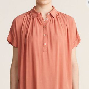 Madewell Drapey Popover Top